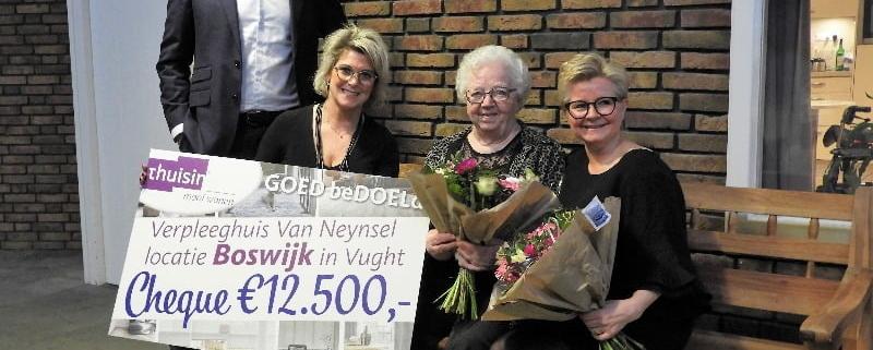 Boswijk overhandiging cheque